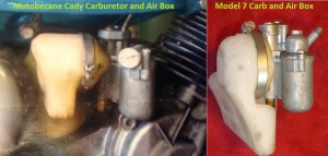 MB Cady and MB 7 air boxes