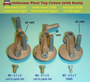 Motobecane Float Top Covers