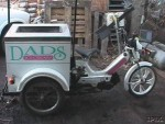 1992 Tomos Ice Cream Trike