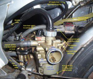 1982-83 NC50 hoses