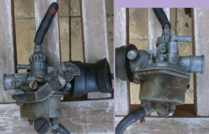 Honda early PC50 carburetor