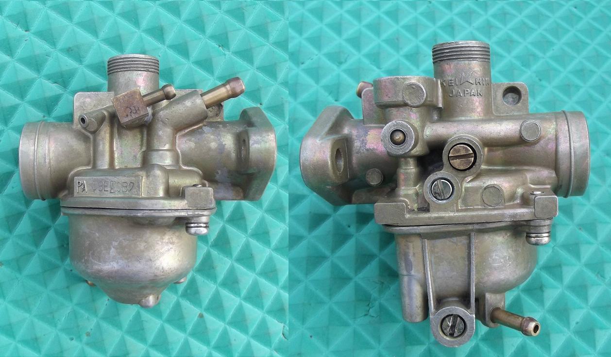 keihin carburetors myrons mopeds keihin pa08e a carb 1980 nc50