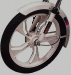 Web style wheel
