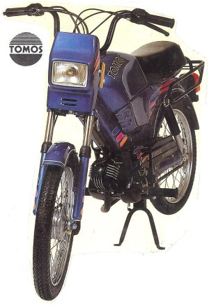 1990 Tomos Bullet TT kick 300x439 tomos models myrons mopeds  at mifinder.co