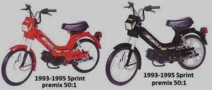 1993-1995 Tomos Sprint