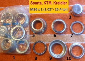 Sparta, KTM 26x1.0 32.0 cups
