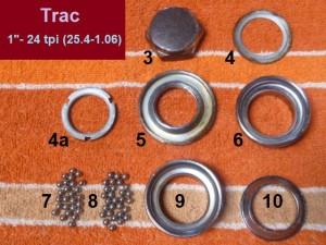 "Trac headset, 1""-24, 30.0 & 30.2"