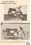 1962 Suzuki Ad