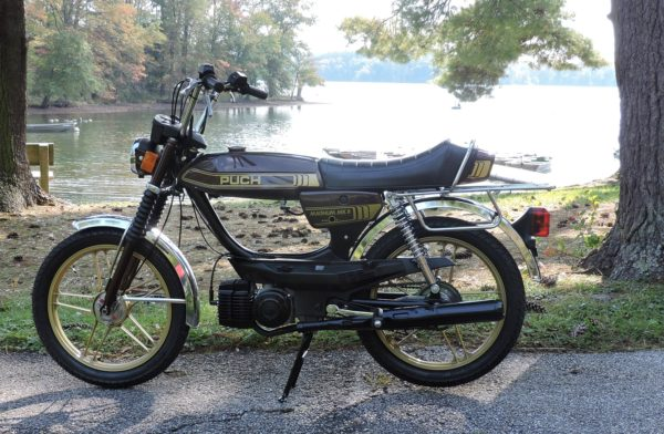 1980 Puch Magnum MkII, restored by B. Small of Maryland