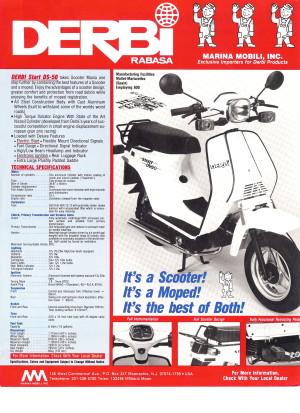 Derbi 1987 DS50