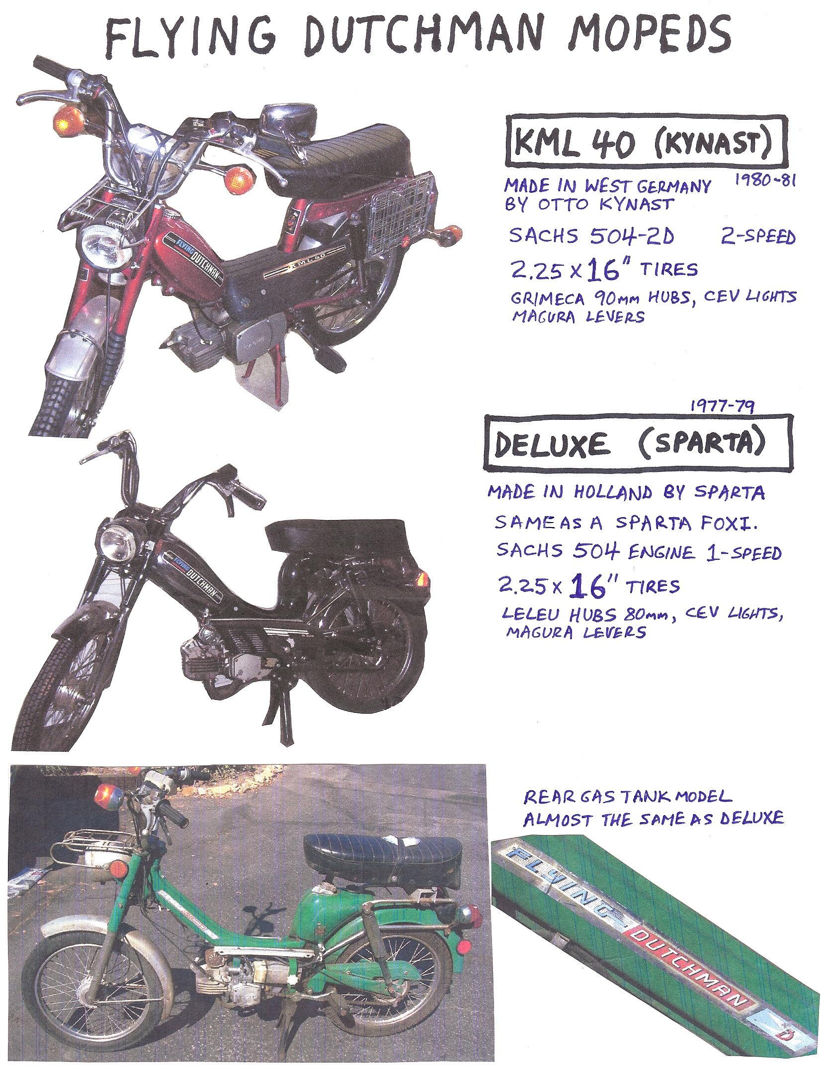 sparta parts  u00ab myrons mopeds american wiring diagram