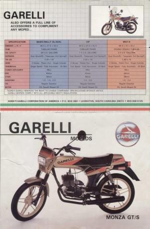 1986 Garelli Brochure p1