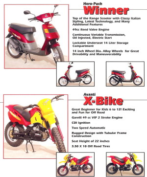 Info Hero Puch and Avanti