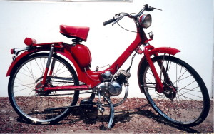 Innocenti 1950s moped