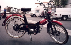 Innocenti 1960s moped