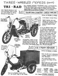 Tri Rad 3-wheel moped