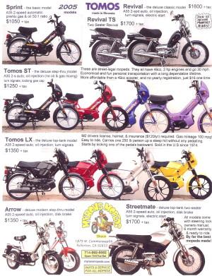 Info Tomos 2005