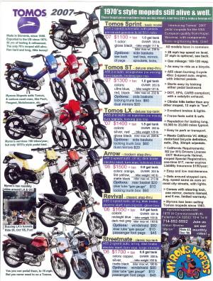 Info Tomos 2007