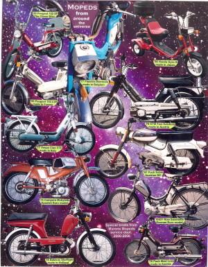 Mopeds From Around the Universe