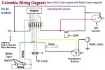 wiring diagrams  myrons mopeds wiring diagram for all moped models sachs 505 or solo engine bosch 5 wire magneto internal ignition ground