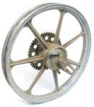 Grimeca 7-ray 16 inch rear wheel