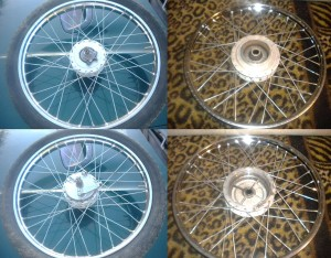 Honda Hobbit wheels