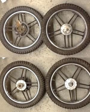 Kreidler Flory wheels