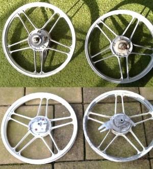 Puch 5-star wheels