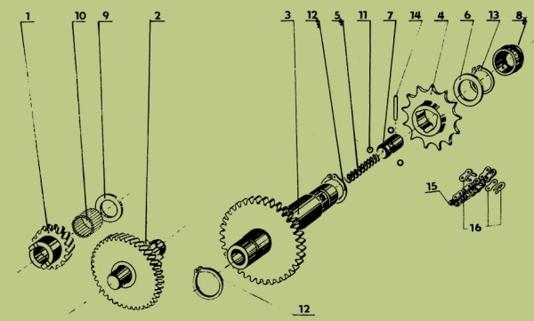 Jawa 207 Parts Diagram 8