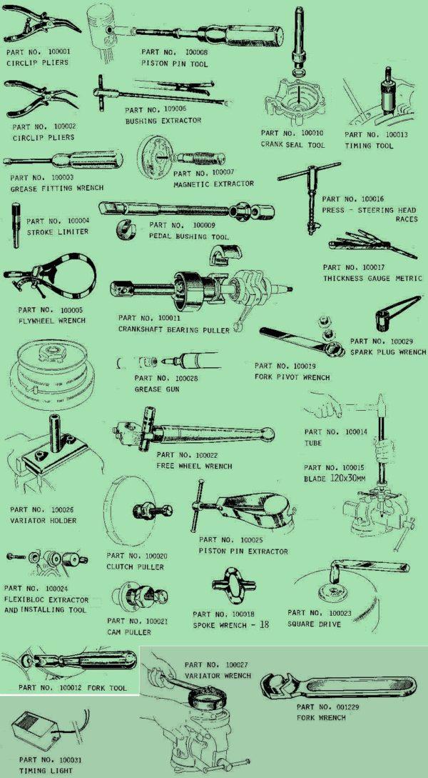 Motobecane Tools (2)