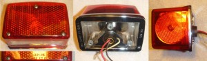Peterson PM421 tail light