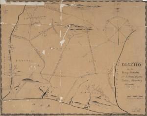 1834 Diseño de los parages llamados