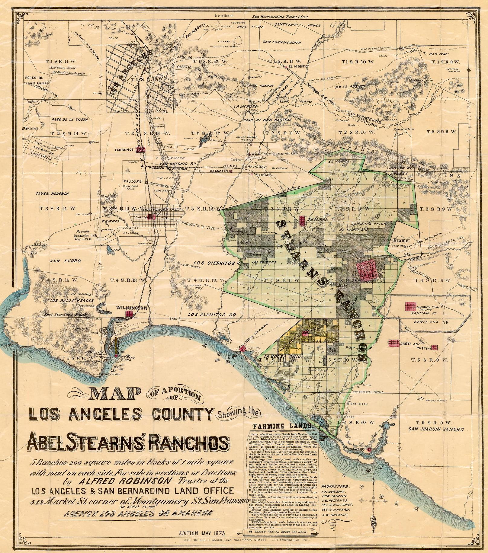 History of L.A. to Anaheim Roads « Myrons Mopeds