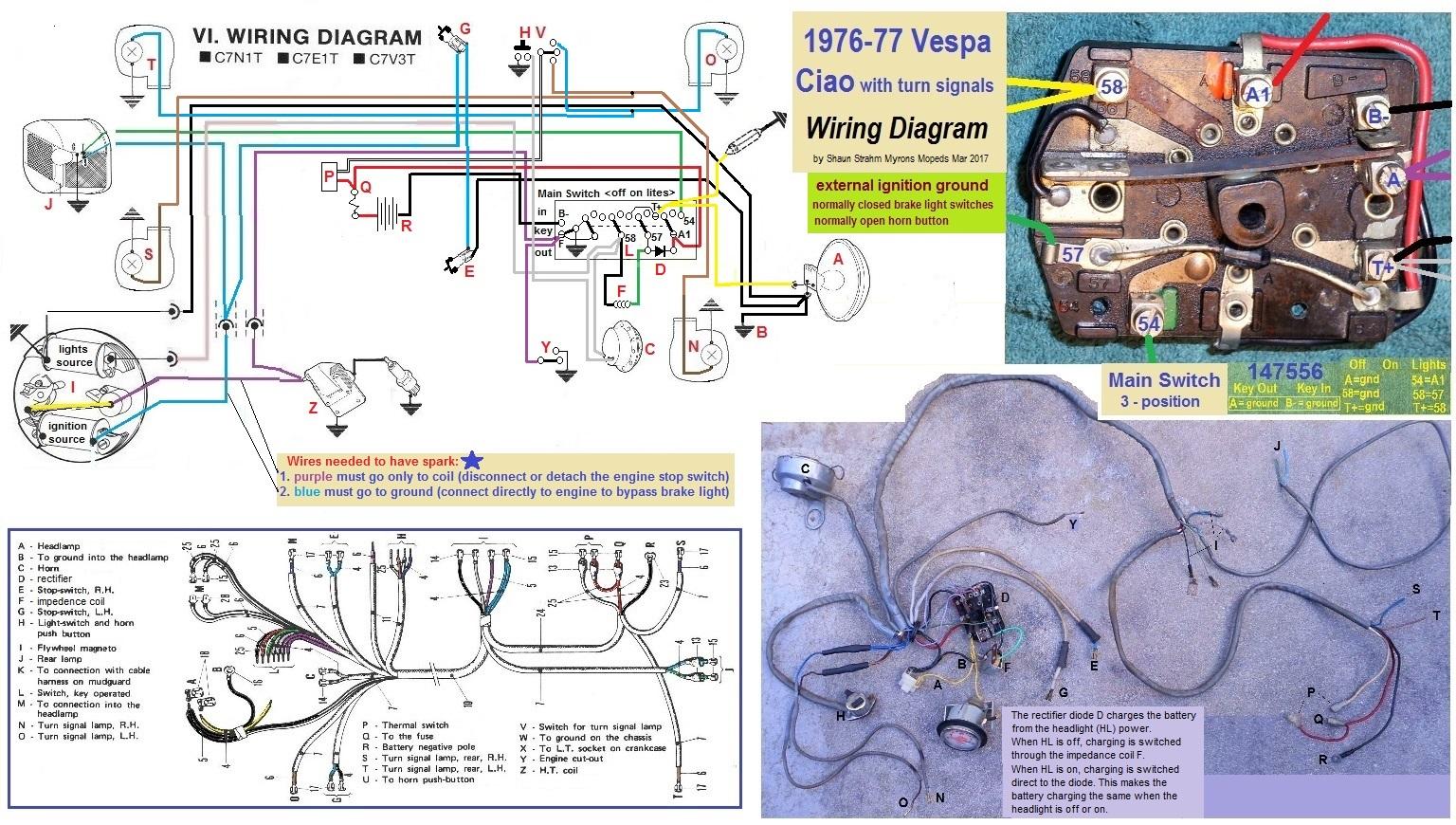 Sachs Moped Wiring Diagram Control Jawa 1977 Royal Ryder