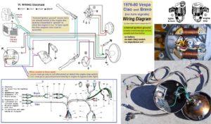 vespa electrical myrons mopeds rh myronsmopeds com Vespa 200L Wiring Diagram 05 Vespa 200L Wiring Diagram 05