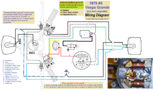 1978 80 Vespa Grande wiring 300x179 vespa electrical myrons mopeds 1978 honda pa50 wiring diagram at gsmx.co