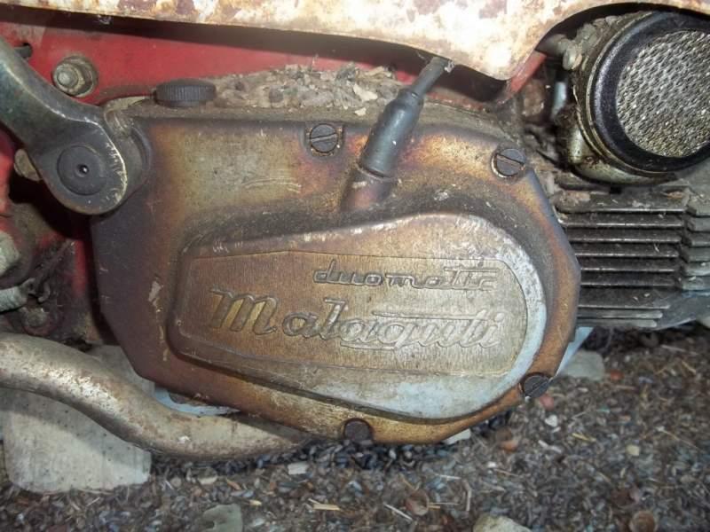 Malaguti Duomatic on Morini Moped Gyromat