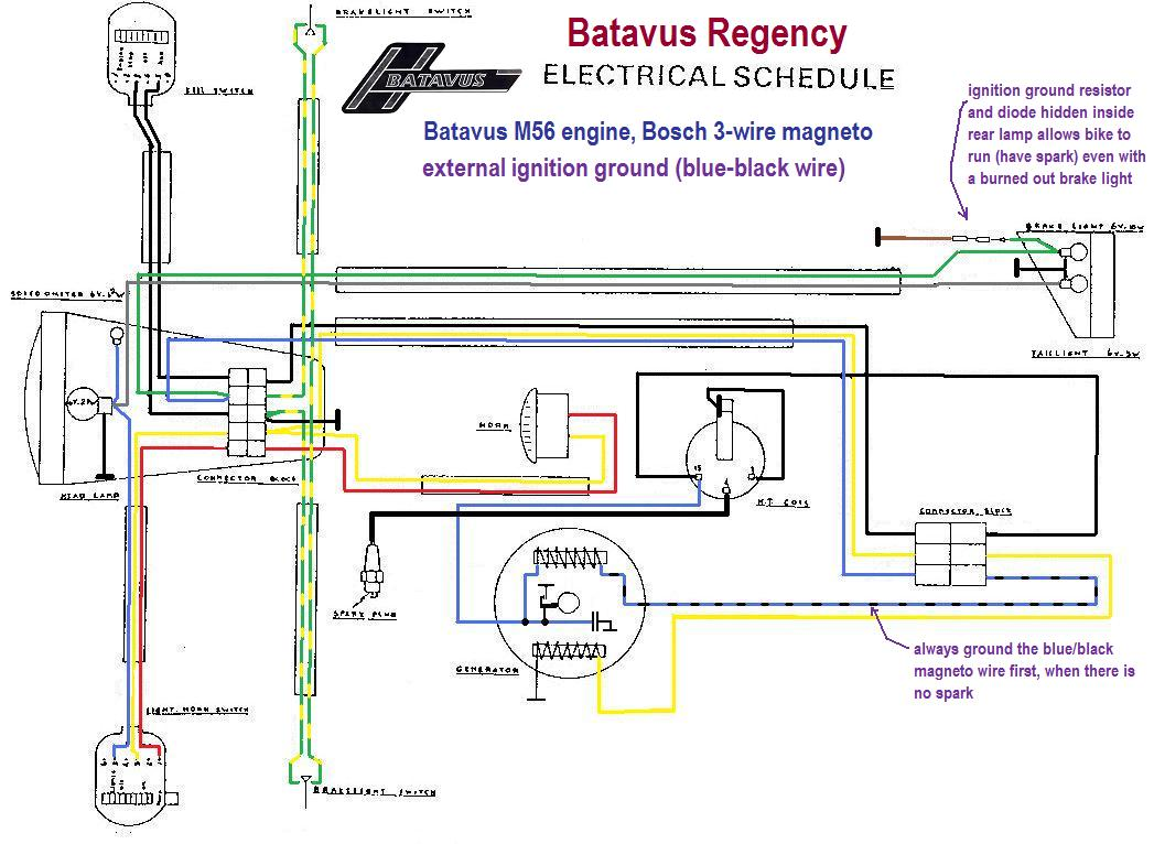 Batavus M56 Electrical Wiring Diagram 37 Images Disc Brake Assembly And Parts List For Sears Bicycleparts Regency Wiring1 Re Noob With No Spark Moped Army Residential Diagrams At Cita