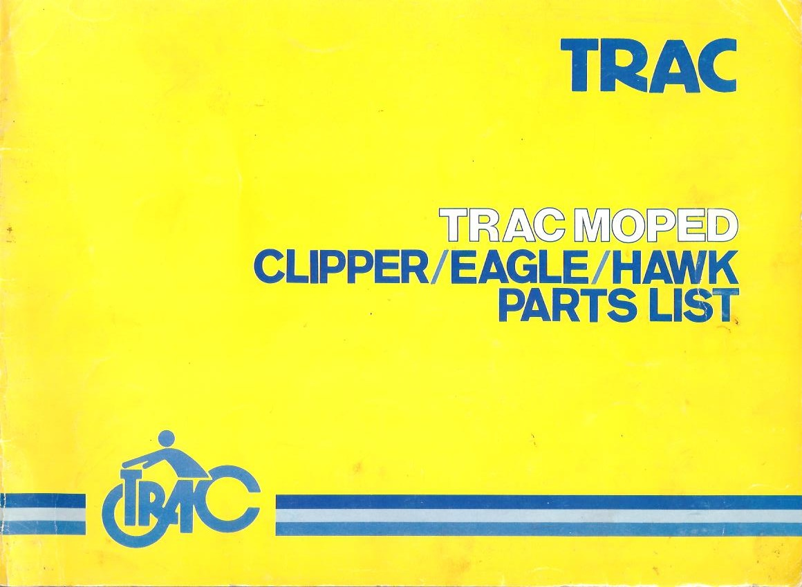 Trac Parts Myrons Mopeds Linhai Scooter Wiring Diagram 06 1984 Clipper Eagle Hawk Manual Updates