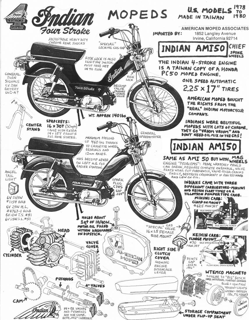 Indian Info Myrons Mopeds Motorcycle Mag O Wiring Diagram Sheet From 2002